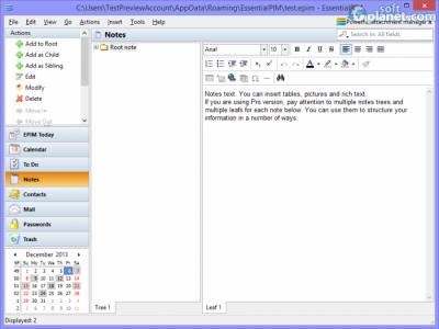 EssentialPIM Screenshot4