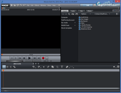 MAGIX Movie Edit Pro 2013 Plus Screenshot2