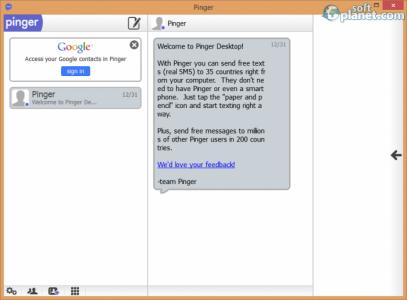 Pinger Desktop Screenshot4