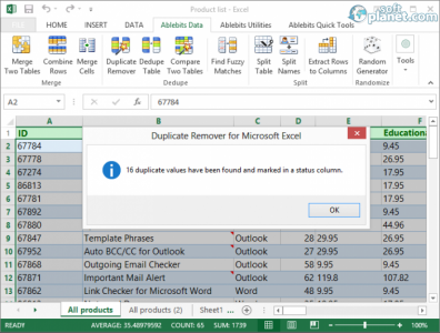 Duplicate Remover for Microsoft Excel Screenshot4