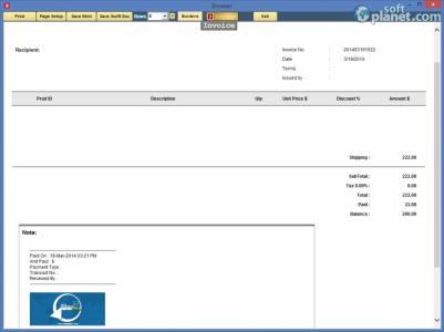 Swift Invoicer Screenshot4