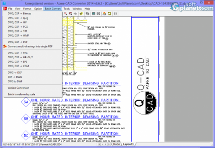 Acme CAD Converter 2014 Screenshot3