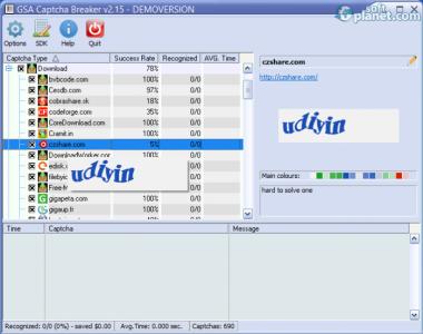 GSA Captcha Breaker Screenshot2