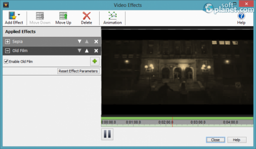 VideoPad Video Editor Screenshot2