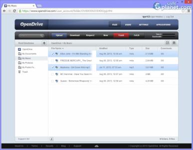 OpenDrive Screenshot4