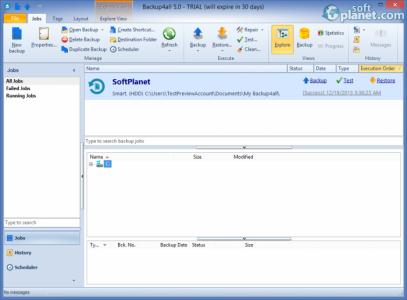 Backup4all Professional Screenshot2