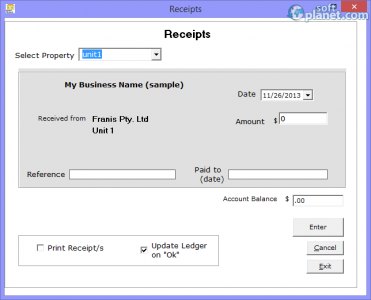 Tenant Billing Screenshot4