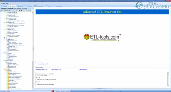 Advanced ETL Processor Enterprise Screenshot2