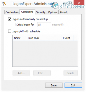 LogonExpert Administrator Screenshot2