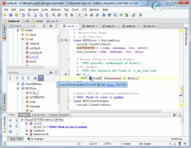 RubyMine Screenshot4