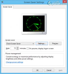 Clock Screen Saver Screenshot2