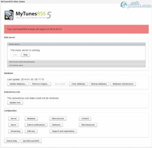 MyTunesRSS Screenshot2