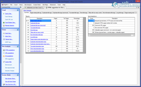 Visual SEO Studio Screenshot3