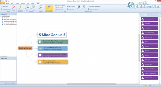 MindGenius Screenshot3