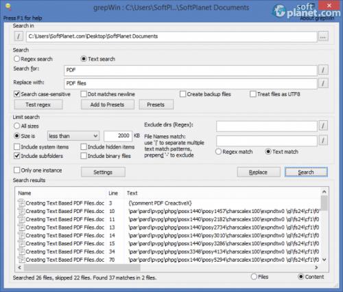 grepWin Portable 1.6.3.546